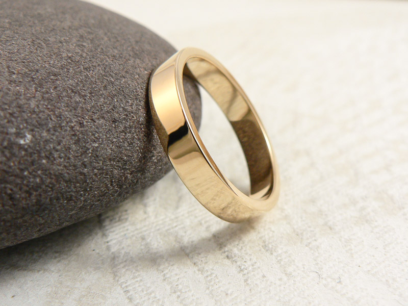 Alianza boda A1030-001 Plana 3mm brillo (2)